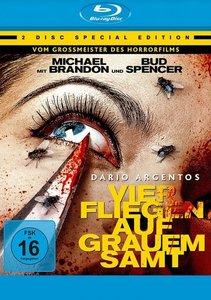 Dario Argentos Vier Fliegen auf grauem Samt, 1 Blu-ray + 1 DVD
