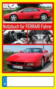 Notizbuch für Ferrari-Fahrer