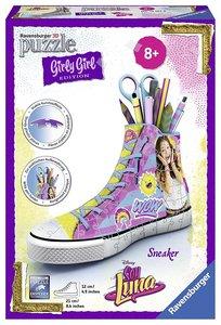Ravensburger 121076 - Girly Girl - Sneaker - Soy Luna, 3D-Puzzle