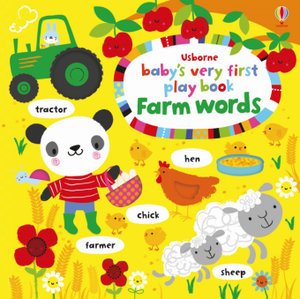 Baby's Very First Play Book Farm Words