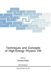 Techniques and Concepts of High-Energy Physics VIII