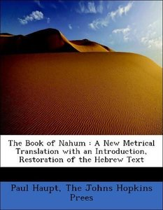 The Book of Nahum : A New Metrical Translation with an Introduct