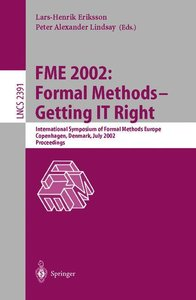 FME 2002: Formal Methods - Getting IT Right