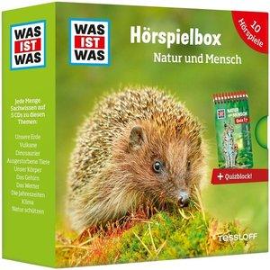 WAS IST WAS 5-CD Hörspielbox Natur und Mensch, mit 1 Buch, mit 1
