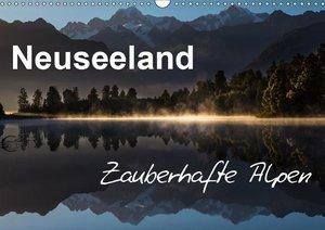 Neuseeland - Zauberhafte Alpen (Wandkalender 2019 DIN A3 quer)