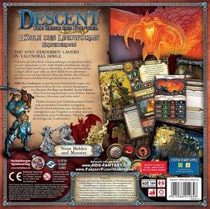 Heidelberger Spieleverlag HEI0602 - Descent 2. Edition, Höhle de