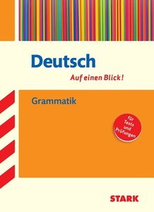 Deutsch - auf einen Blick! Grammatik