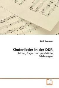 Kinderlieder in der DDR
