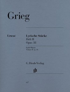 Lyrische Stücke Heft II, op. 38
