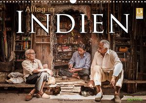 Alltag in Indien (Wandkalender 2020 DIN A3 quer)