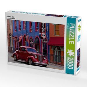 CALVENDO Puzzle Central City 2000 Teile Lege-Größe 90 x 67 cm Fo