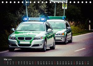 Einsatzfahrzeuge - Bayern (Tischkalender 2019 DIN A5 quer)