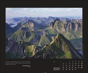Berge versetzen Kalender 2020