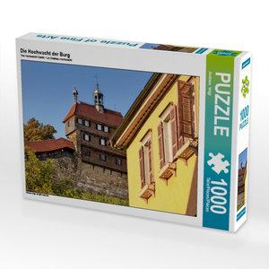 Die Hochwacht der Burg 1000 Teile Puzzle quer