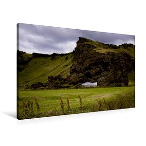 Premium Textil-Leinwand 90 cm x 60 cm quer Island