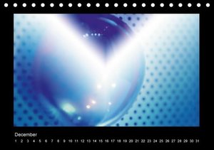 Blue Impression (Table Calendar perpetual DIN A5 Landscape)