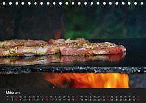 BBQ Lecker Grillen (Tischkalender 2019 DIN A5 quer)