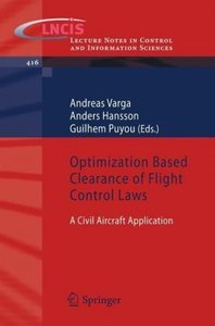 Optimization Based Clearance of Flight Control Laws