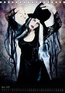Schattenwesen - Die dunkle Seite der Magie (Tischkalender 2020 D