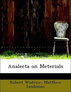 Analecta on Meterials
