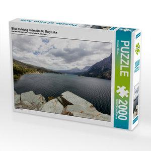 Blick Richtung Osten des St. Mary Lake 2000 Teile Puzzle quer