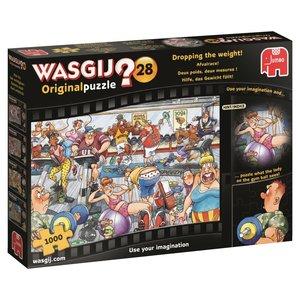 Wasgij Originalpuzzle 28 - Hilfe, das Gewicht fällt! - 1000 Teil