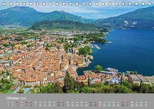 Gardasee - lago di Garda by Sascha Ferrari (Tischkalender 2019 D