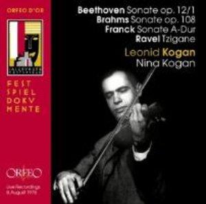 Violinsonaten op.12,1/op.108/A-Dur/Tzigane