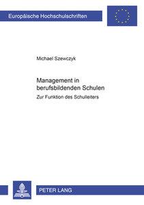 Management in berufsbildenden Schulen