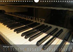 TASTEN Symphonie (Wandkalender 2019 DIN A4 quer)