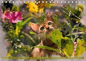 Katzenkalender mausgemalt