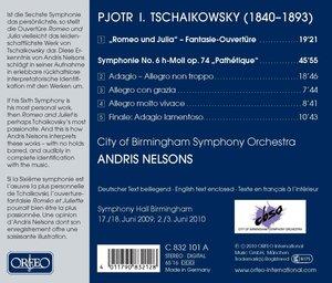 """Sinfonie 6/""""Romeo Und Julia"""" Ouvertüre"""