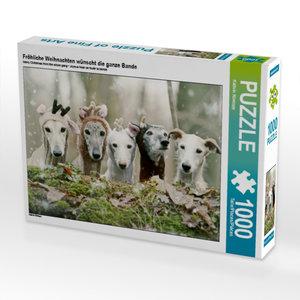 Fröhliche Weihnachten wünscht die ganze Bande 1000 Teile Puzzle