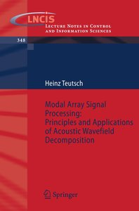 Modal Array Signal Processing: Principles and Applications of Ac