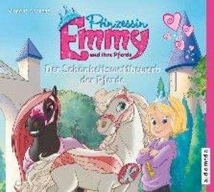 Prinzessin Emmy und ihre Pferde. Der Schönheitswettbewerb der Pf
