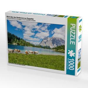 CALVENDO Puzzle Blick über den Seebensee zur Zugspitze 1000 Teil