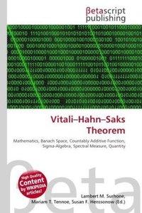 Vitali Hahn Saks Theorem