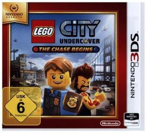 LEGO City Undercover, The Chase Begins, Nintendo 3DS-Spiel