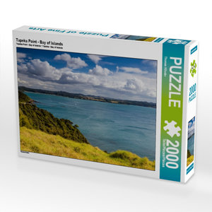 Tapeka Point - Bay of Islands 2000 Teile Puzzle quer