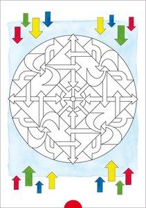 Fragenbär - Mein bärenstarker Mandala-Block