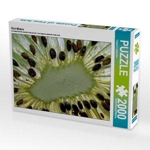 CALVENDO Puzzle Kiwi-Makro 2000 Teile Lege-Größe 90 x 67 cm Foto