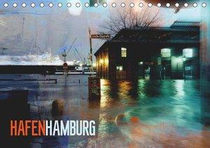 Hafen Hamburg (Tischkalender 2019 DIN A5 quer)
