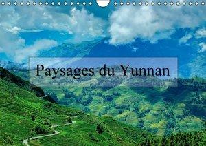 Paysages du Yunnan (Calendrier mural 2015 DIN A4 horizontal)