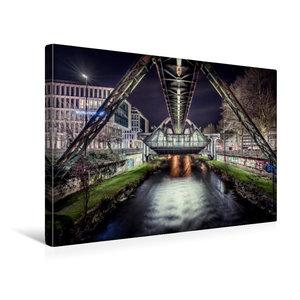 Premium Textil-Leinwand 45 cm x 30 cm quer Schwebebahnstation Wu