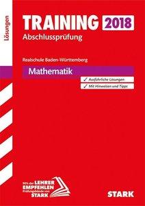 Training Abschlussprüfung Realschule Baden-Württemberg 2018 - Ma
