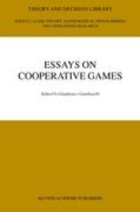 Essay in Cooperative Games