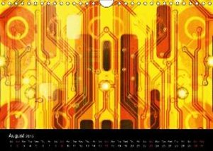 Computer Close Up (Wall Calendar 2015 DIN A4 Landscape)