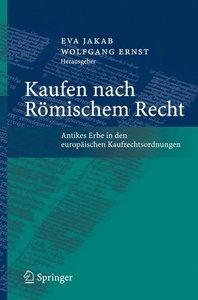 Kaufen nach Römischem Recht