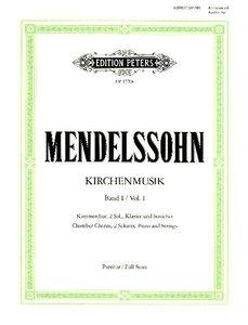 Kirchenmusik, Band 1: Chorwerke mit Orgelbegleitung