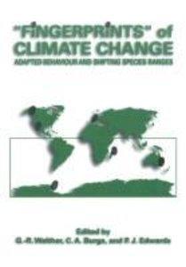 """""""Fingerprints"""" of Climate Change"""